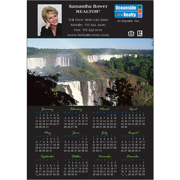 """Promotional Magnet - 7.375"""" x 10.5"""" Square Corners - 20 mil"""
