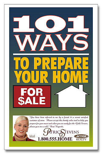 Customized 101 Ways to Prepare Your Home for Sale