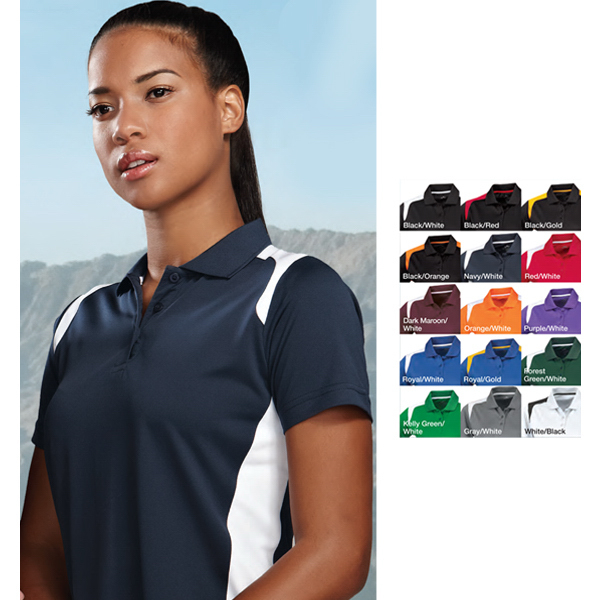 Promotional Lady Blitz - Women's Moisture Wicking Polo