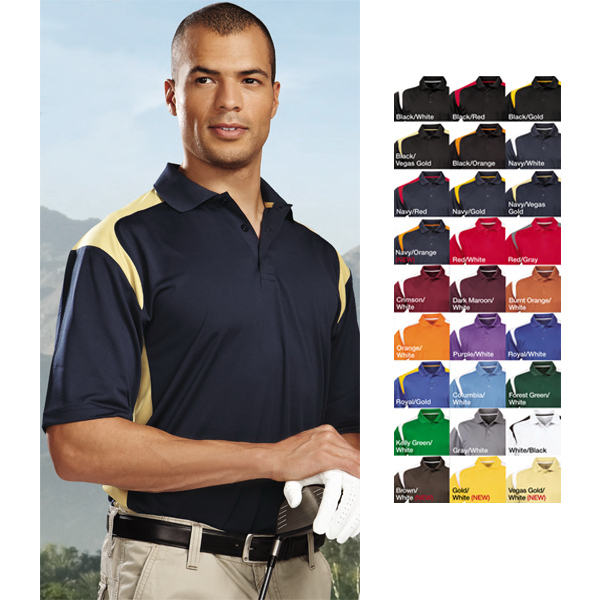 Printed Blitz - Men's Moisture Wicking Polo