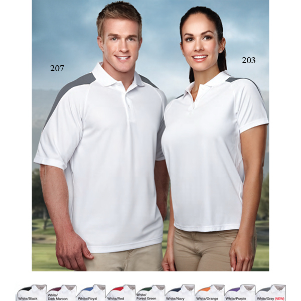 Printed Avenger - Men's Moisture Wicking Polo