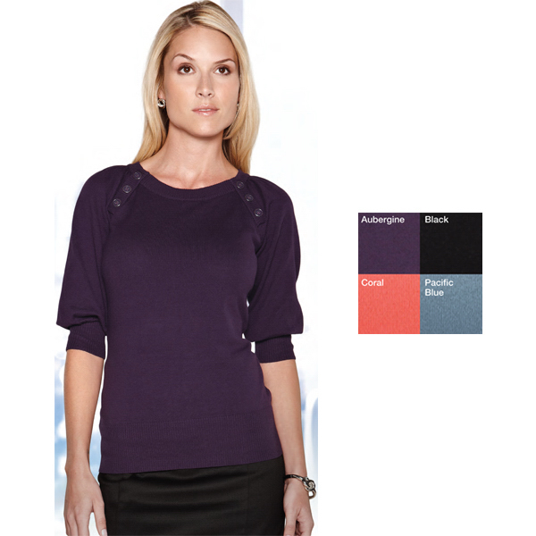 Customized Emma Women's 3/4 Sleeve Sweater
