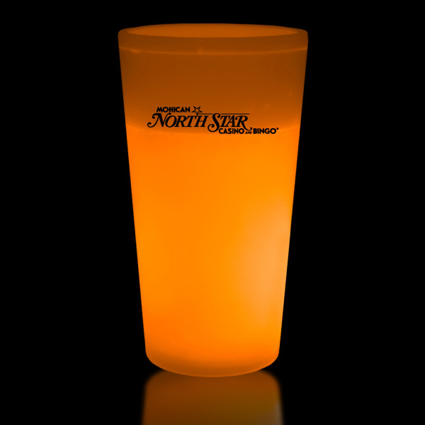 Printed Orange 12 oz. Glow Cup