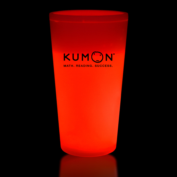 Personalized Red 16 oz. Glow Cup