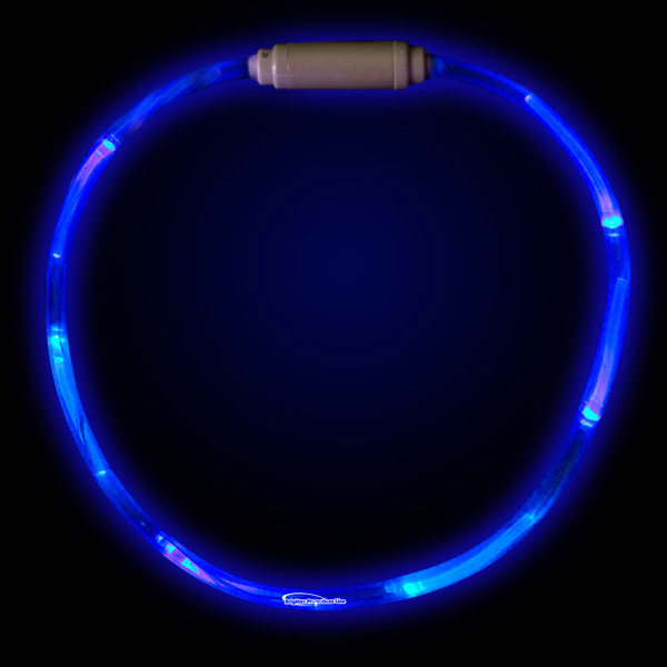 "Personalized Blue 27"" LED Light-Up Necklace"