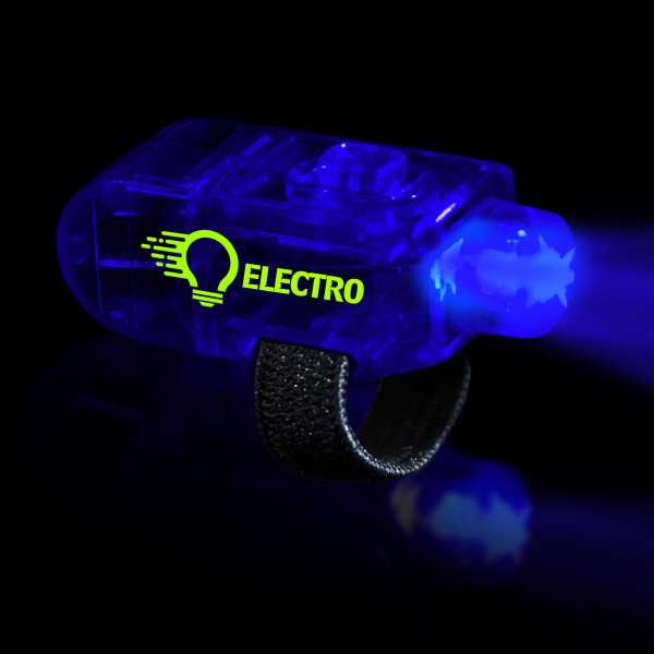 Custom Blue LED Finger Light