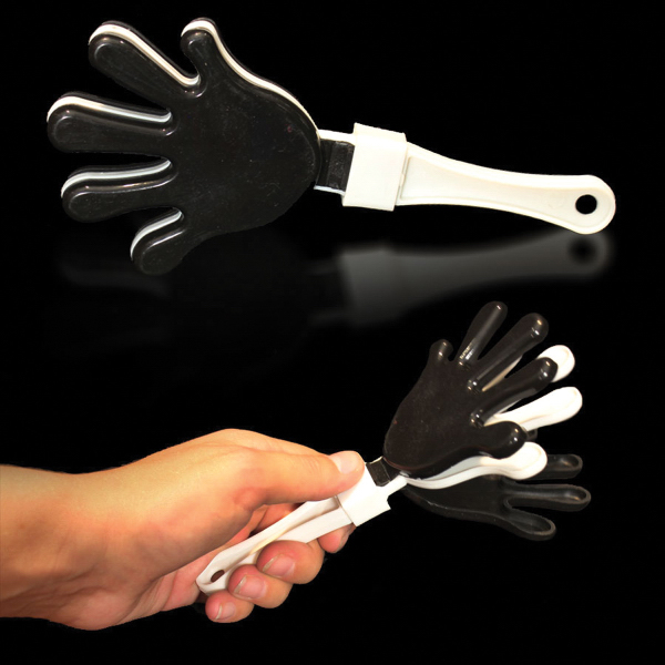 Customized Black White & Black Hand Clapper