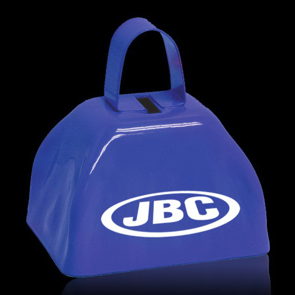 """Customized BLue 3"""" Metal Cowbell"""