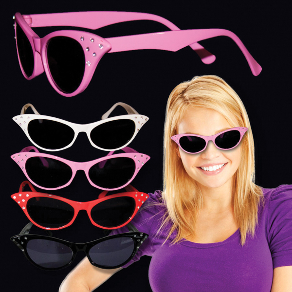 Personalized 50's Cat Eye Sunglasses