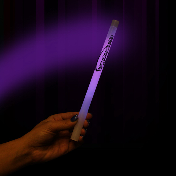 "Customized Purple concert 10"" Glow Sticks"