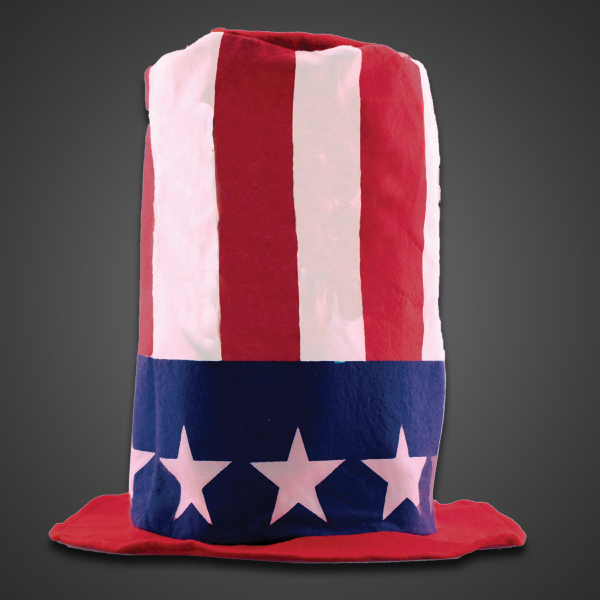 Promotional Patriotic Stove Top Hat