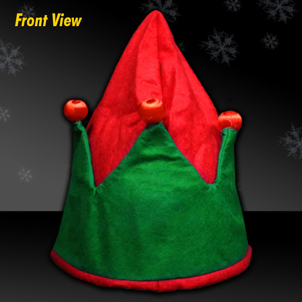 Custom Light Up Elf Hat