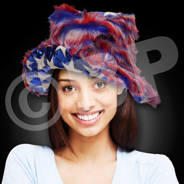 Printed Patriotic Bucket Hat