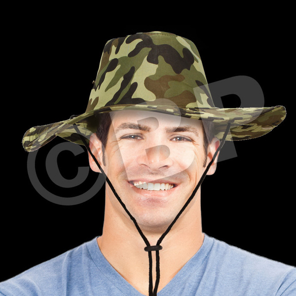 Personalized Camouflage Cowboy Hat