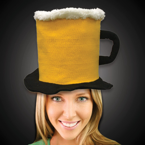 Customized Beer Stein Top Hat