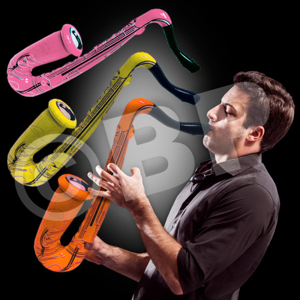 Customized Inflatable Saxophone