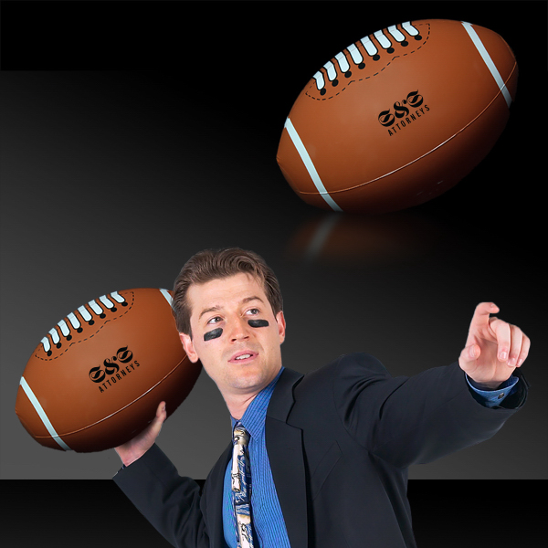 Imprinted Inflatable Football