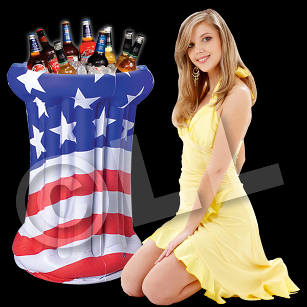 Promotional Patriotic Inflatable Cooler