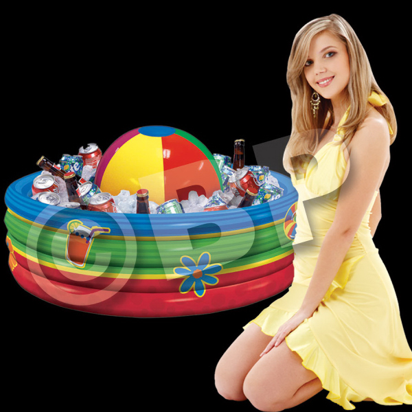 Custom Inflatable Beach Ball Cooler