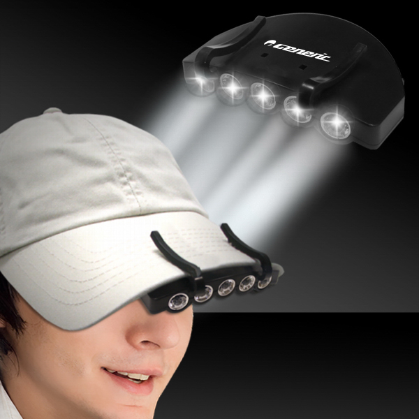 Customized White LED Cap Light