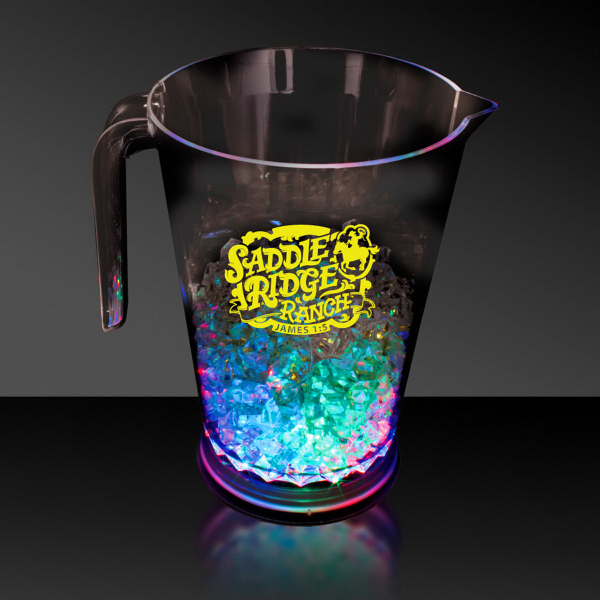Customized 48 oz. Light Up LED Pitcher