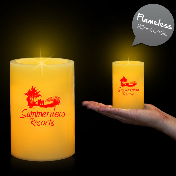 Promotional LED Pillar Candle