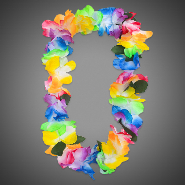 Personalized MultiColor Tie Dye Lei