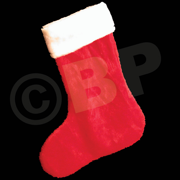Personalized Plush Christmas Stocking