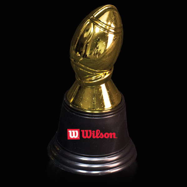 Imprinted Football Award Statue