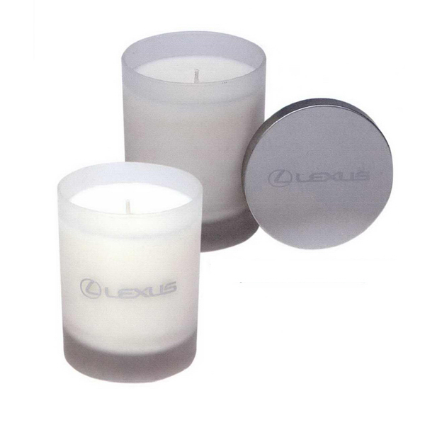 Promotional 7.5 oz. Frosted votive