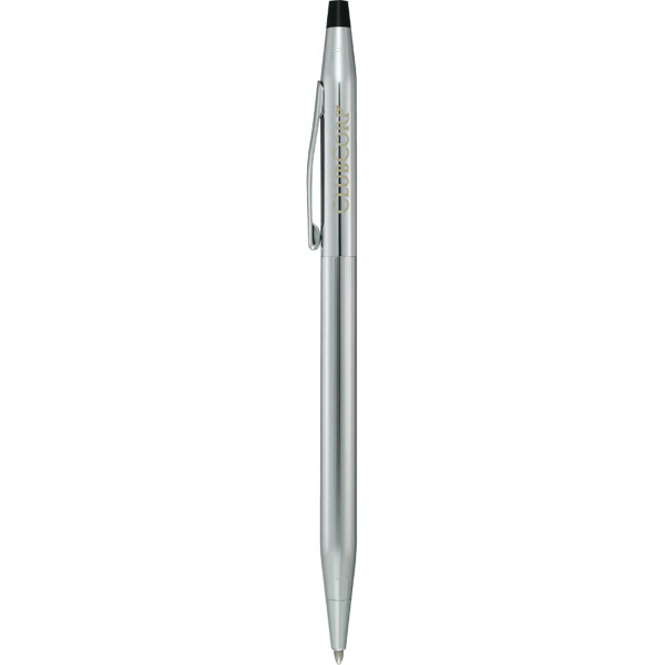 Imprinted Cross (R) Classic Century lustrous chrome ballpoint pen
