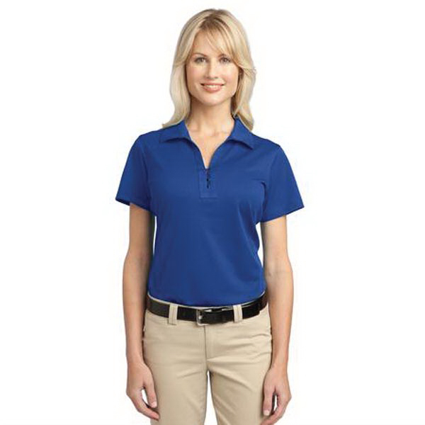 Printed Port Authority (R) Ladies' Tech Pique Polo
