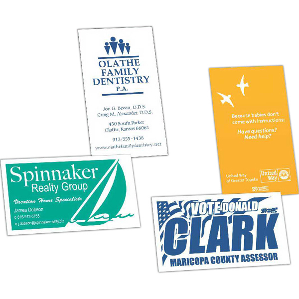 Promotional Value Business Card Magnet