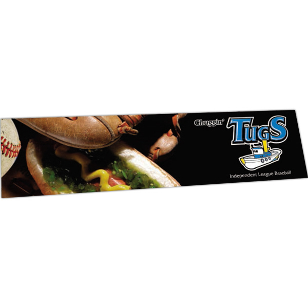 Custom Full Color Bumper Sticker