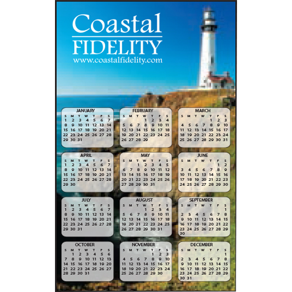 Customized Full Color Calendar Decal