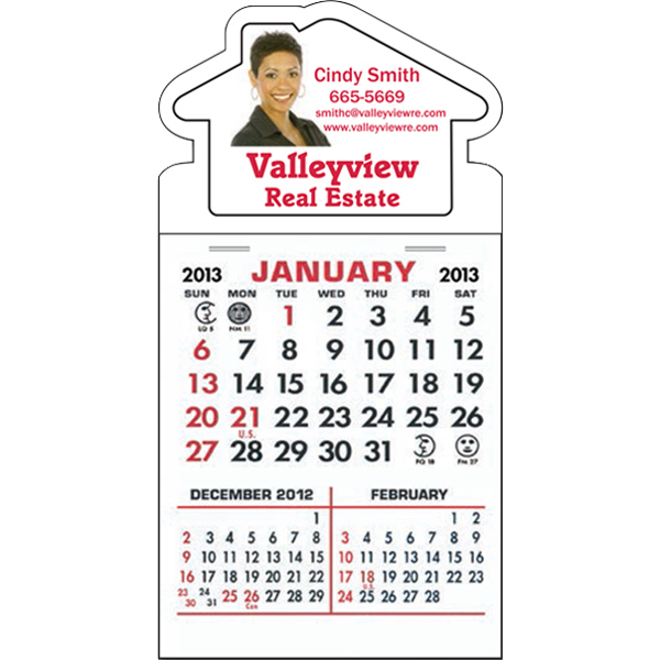 Personalized Stick-It! Calendar Pad On Decal