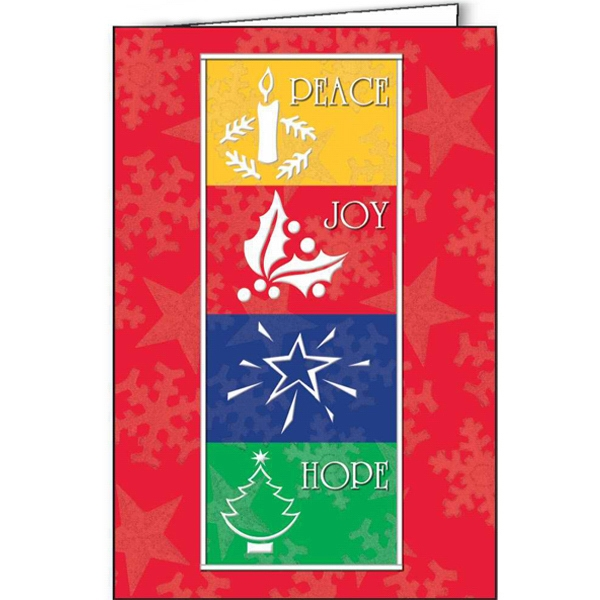 Customized Holiday Wishes greeting card