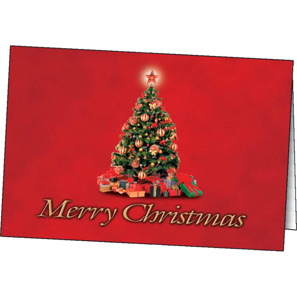 Customized Christmas Tradition greeting card