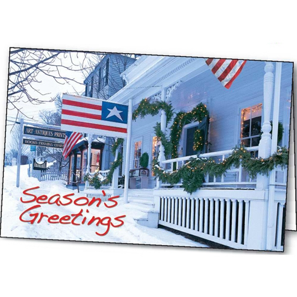 Custom Patriotic Greetings greeting card