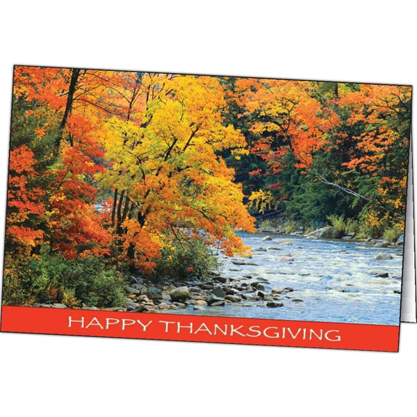 Promotional Autumn Colors special occasion card