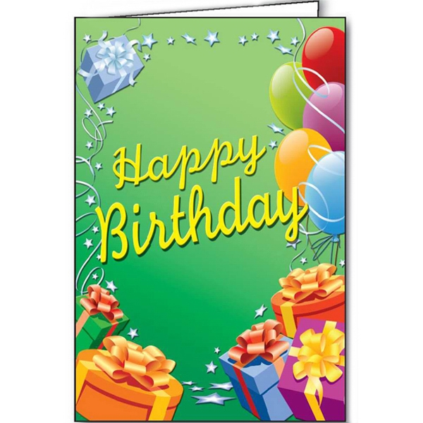 Printed Birthday Party special occasion cards