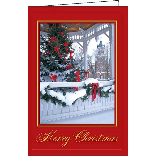 Custom Festive Holiday greeting card