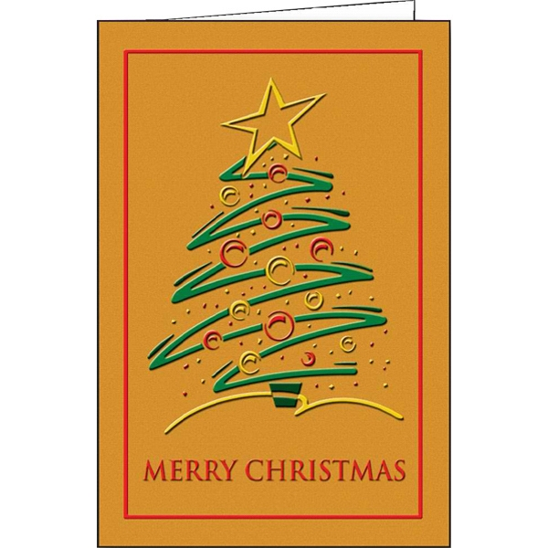 Customized Christmas Trimmings greeting card