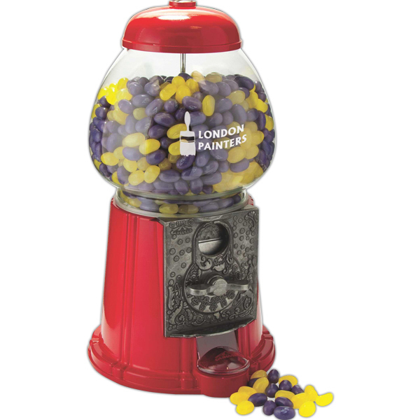 Printed Imprinted Jelly Bean Machine with Assorted Jelly Belly®
