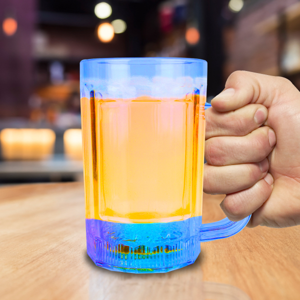 Custom 14 oz Light Up LED Beer Mug