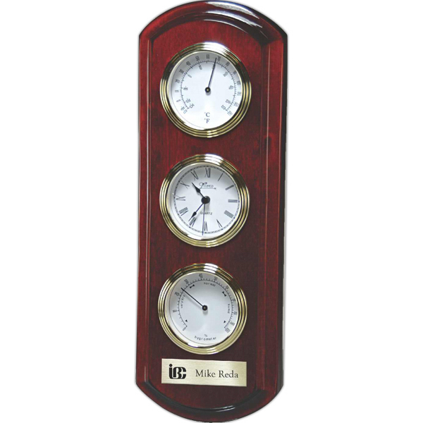 Imprinted Rosewood Piano Wood Wall Clock