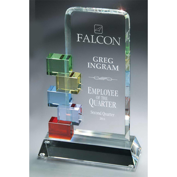Printed Optic Crystal Cornerstone Excellence Award