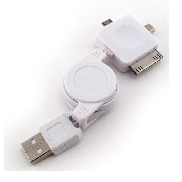 Imprinted Mobile Phone USB Extension Cable