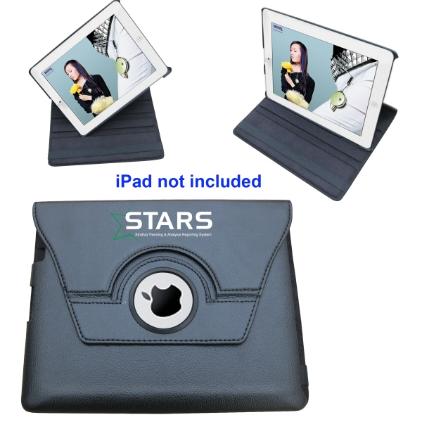 Customized 360 Degree Rotating Leather Case For iPad2 iPad3