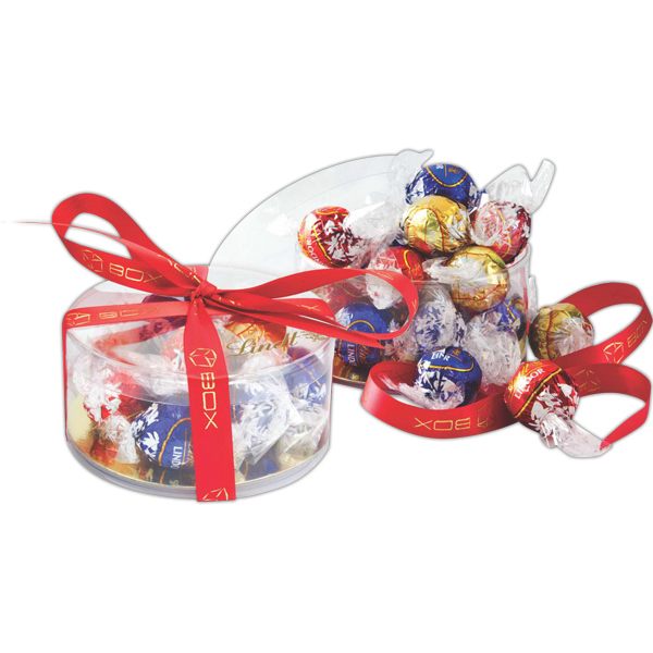 Promotional Lindt Clearview Gift Box of Assorted Truffles